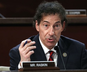 Rep. Jamie Raskin, D-Md., speaks at a hearing in 2018.