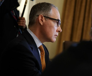 Former EPA Administrator Scott Pruitt was criticized for excessive use of first-class and business flights.