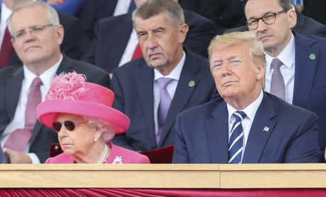 World leaders, including the heads of state of 16 countries involved in World War II, gathered in Portsmouth, England to commemorate the 75th Anniversary of the D-Day Invasion in June 1944.