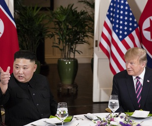 Trump and Kim meet in February in Vietnam.