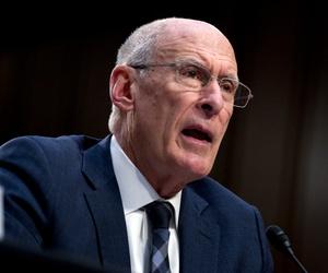 Daniel Coats testifies before the Senate Intelligence Committee in January.