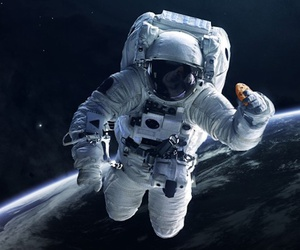 Astronaut in outer , ... ]