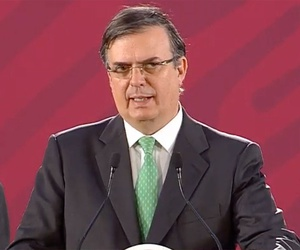 Eight citizens of Mexico were among the 22 shot and killed, Mexican Foreign Secretary Marcelo Ebrard said Monday