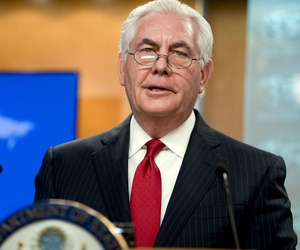 Former Secretary of State Rex Tillerson instituted the hiring freeze.