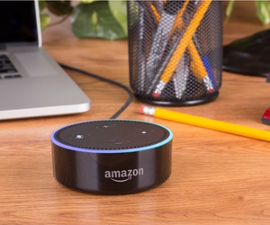 The Amazon Echo Dot is a popular model of voice assistance that connects to Alexa.