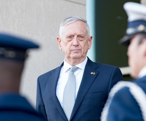 U.S. Secretary of Defense James N. Mattis at the Pentagon in 2018.