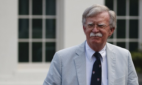 National security adviser John Bolton walks to speak to media at the White House in Washington, Wednesday, July 31, 2019.National security adviser John Bolton walks to speak to media at the White House in Washington, Wednesday, July 31, 2019.