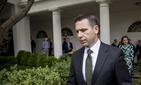 Acting Homeland Security Secretary Kevin McAleenan arrives for an immigration speech by President Donald Trump in the Rose Garden at the White House, Thursday, May 16, 2019.