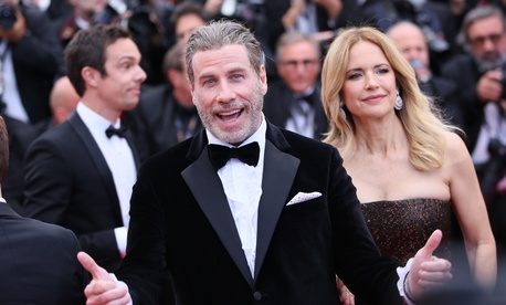 John Travolta at Cannes in 2018
