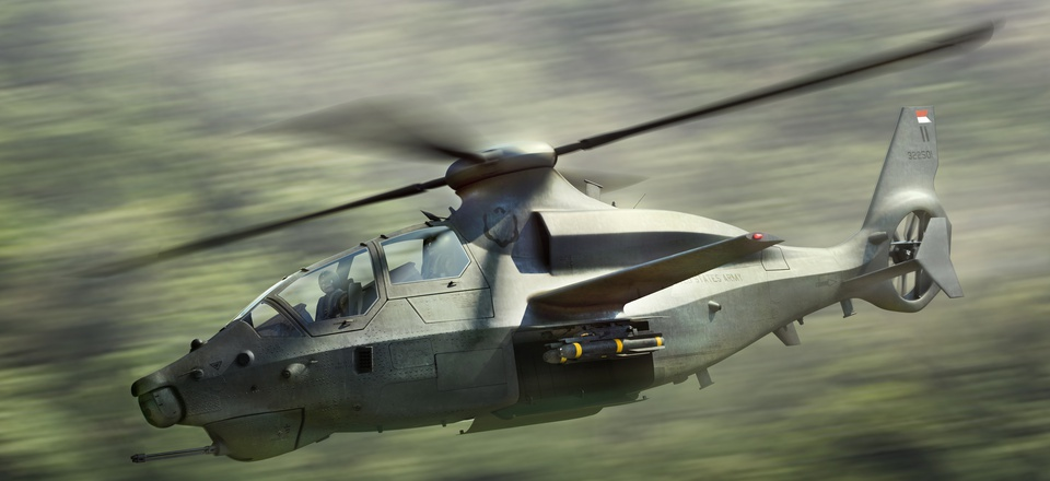 A concept image of the Bell 360 Invictus