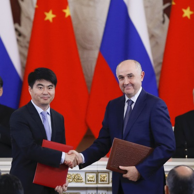 China, Russia Deepen Technological Ties