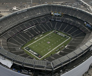 MetLife Stadium is shown in this Dec. 1, 2013 aerial photo in East Rutherford, N.J.