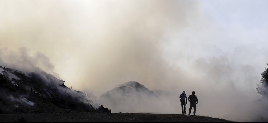 Fire officials have warned that they expect more intense and devastating California wildfires due, in part, to climate change.