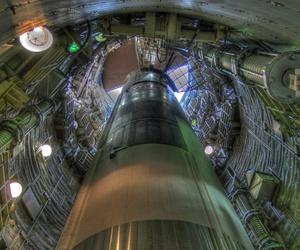 A decommissioned Titan ICBM in Arizona