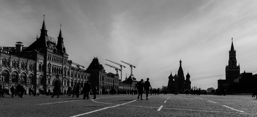 Moscow's Red Square, 2016