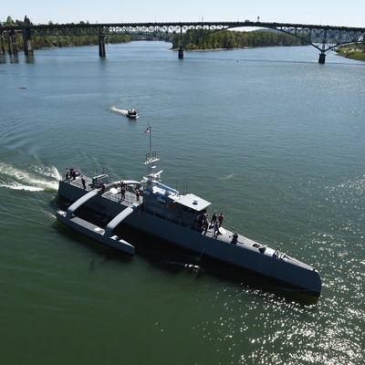 DARPA Aims to Develop a 'Sea Train' of Unmanned Warships