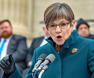 Kansas's Democratic governor, Laura Kelly, struck a deal with Republicans to expand Medicaid..
