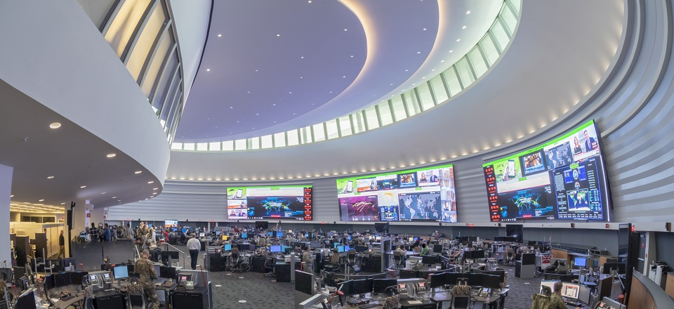 U.S. CyberCommand's Integrated Cyber Center and Joint Operations Center, or ICC/JOC
