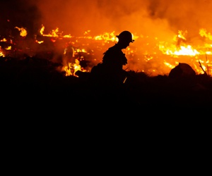 There have been record breaking fires in California in the past few years.