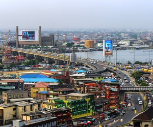 View of Lagos, Nigeria