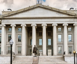 The Treasury Department would gain full-time employees under the budget proposal, partly because the Secret Service would be transferred back under its roof.