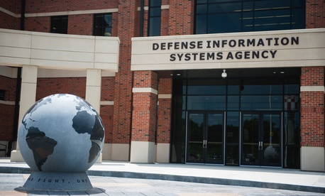 A Defense Information Services Agency facility at Scott Air Force Base, Illinois