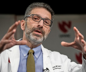 Dr. Andre Kalil, of the University of Nebraska Medical Center, will oversee a clinical trial of a potential coronavirus treatment.
