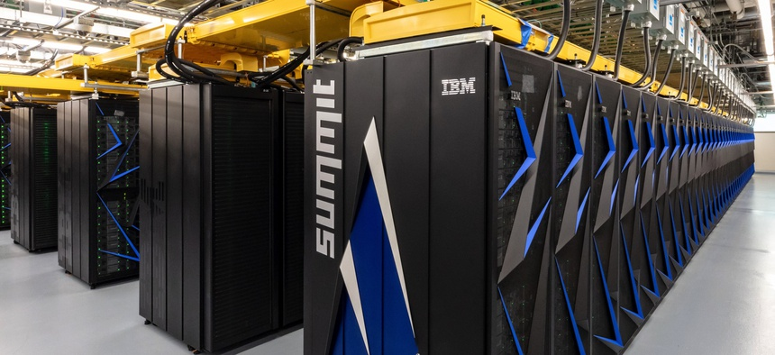 The U.S. Department of Energy's Oak Ridge National Laboratory unveiled Summit as the world's most powerful and smartest scientific supercomputer on June 8, 2018.