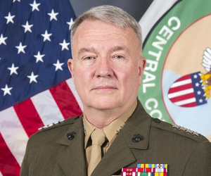 General Kenneth F. McKenzie, Jr. is commander of U.S. Central Command.