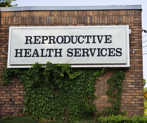 An abortion clinic in Montgomery, Alabama. A federal judge ruled that the state cannot ban abortion during the pandemic.