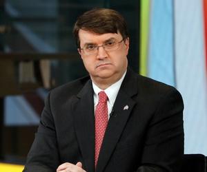 Robert Wilkie appears on Fox News in 2019.