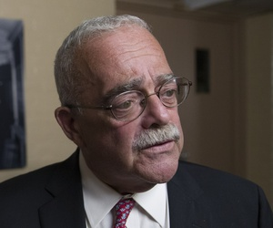 A 2019 photo of Rep. Gerry Connolly, D-Va., who is backing legislation to give defense firms more money.