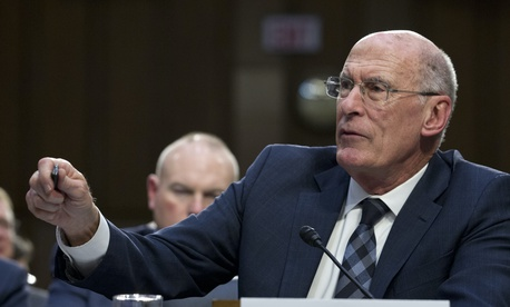 Director of National Intelligence Daniel Coats warned about a pandemic to lawmakers in 2019.