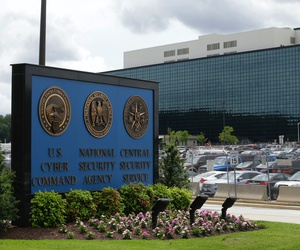 This 2013 file photo shows the National Security Administration (NSA) campus in Fort Meade, Md.