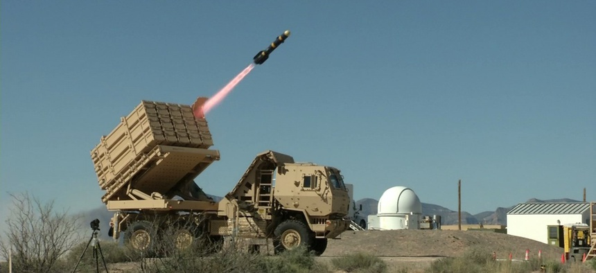 A 2016 test of the Integrated Fire Protection Capability at White Sands Missile Range, N.M.