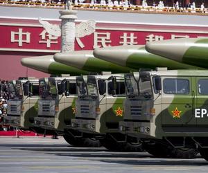 China's DF-26 intermediate-range ballistic missile (IRBM).