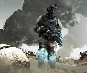 An illustration from Ubisoft's Ghost Recon Future Soldier.