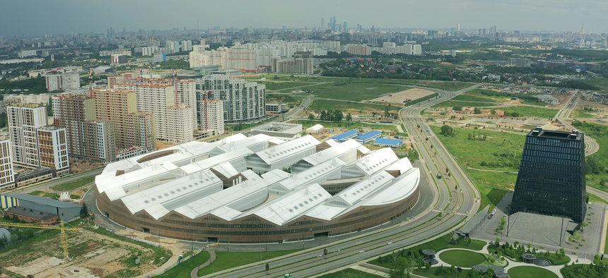 Skolkovo Institute of Science and Technology in Moscow, a center of Russia's high-tech R&D.