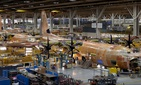 Lockheed Martin's C-130J production line in Marietta, Georgia.