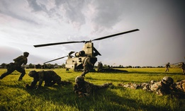 U.S. Army paratroopers conduct training in Romania, June 14, 2019, during Swift Response, an annual multinational airborne exercise.