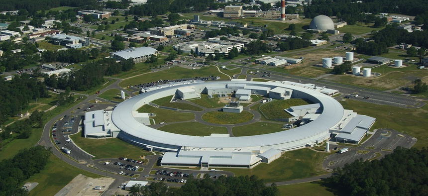 Brookhaven National laboratory's National Synchrotron.