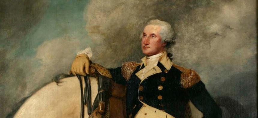 George Washington, by John Trumbull, 1790