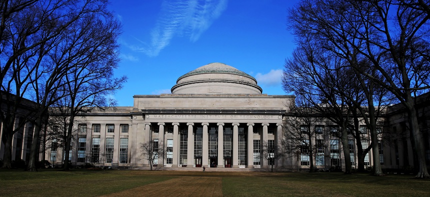 The Great Dome at the Massachusetts Institute of Technology, Cambridge, Massachusetts.