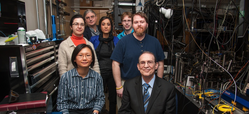 Quantum researchers at the U.S. Army Research Laboratory teamed up with others at the Joint Quantum Institute at the University of Maryland at College Park.