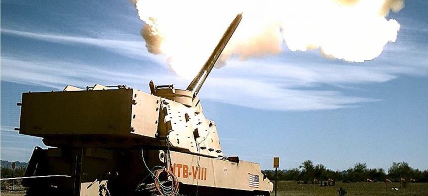Extended Range Cannon Artillery, or ERCA, from the US Army.